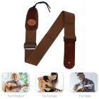 Guitar Strap Acoustic Classic Leather Electric Soft Basses Luxury Replacement