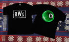 NEW RARE !!90's NWO 6 Pool Ball Wrestling T-Shirt WWF WWE WCW Kevin Nash EX image