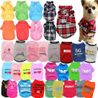 Внешний вид - Pet Dog Clothes Puppy T Shirt Clothing For Small Dogs Puppy Chihuahua Vest Plaid