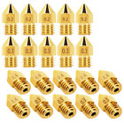 5pcs 0.2-0.4mm Brass Nozzle For Creality Ender - 3 / Cr - 10 / Alfawise U20 U30