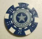Heavy duty souvenir football team golf marker poker chip, your choice 2 sided $2.5 USD on eBay