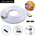 4 Pin RGB Extension Cable Extended Line Wire For 5050 3528 RGB LED Strip Lights