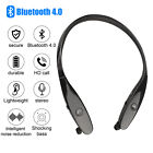 Wireless Bluetooth Headphones Headset Stereo Earphone Neckband Earbuds / Mic USA