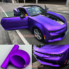 Flexible Decal Car Metallic Satin Matte Chrome Vinyl Wrap Sticker Bubble Free US