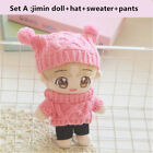 20cm KPOP BTS Plush JIMIN Doll Toy with Hat Sweater Pants Christmas Gift Cute