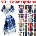 Kyпить Mens Womens Winter Warm SCOTLAND Made 100% CASHMERE Scarf Scarves Plaid Wool на еВаy.соm