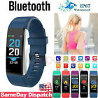 WomenMen Fitness Smart Watch Activity Tracker Kids For Fitbit Android iOS Heart