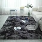 Hairy Shaggy Fluffy Rug Carpet Anti-Skid Living Room Bedroom Warm Mat Home Decor