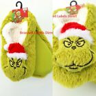 PRIMARK LADIES GIRLS DISNEY THE GRINCH DR SEUSS XMAS COSY FOOTLETS NOVELTY