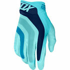 Fox Racing Seca Airline Ice Blue Motocross Gloves BMX Enduro MTB Guanti OUTLET