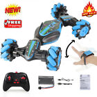4WD RC Stunt Car Twisting Vehicle 2.4G Remote Control Gesture Sensing Car Toys