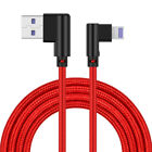 4A Elbow Data Cable For iPhone X IOS Micro USB Type C QC 3.0 Quick Charger Cable