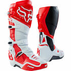 New Fox Racing Instinct Motocross Boots Red White Botas Stivali Enduro OUTLET