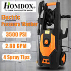 3500PSI 2.80GPM Electric Pressure Washer High Power Water Cleaner Machine Kit