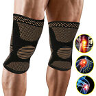 Copper Knee Support Compression Patella Wraps Sports Gym Squats Joint Arthritis $8.99 USD on eBay