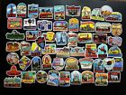Vintage Decal Stickers Tourist Attractions & Vacation Spots Around The World