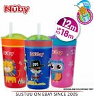 Nuby Snack N Sip Toddlers Dual Non Spill Leaf Proof Snack & Sippy Cup +12m