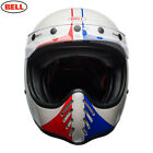 Bell Moto3 Ace Cafe 66 White Blue Red Scrambler/Custom/MX LIMITED EDITION $322.57 USD on eBay