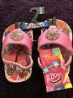 DREAMWORKS TROLL LIGHT UP SANDALS  SIZES 5/6 AND 7/8  NEW WITH TAGS image