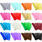 Kyпить 28 Yards Organza Tulle Roll Fabric Chair Bow Sash Table Runner Wedding Party 11