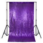 2x7FT Sequin Backdrop Curtain Drape Photography Wedding Party Background Decor