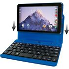 """RCA Voyager 7"""" 16GB Tablet with Keyboard Case Android OS Bundle Multiple Color"""