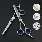 Professional Barber Hairdressing Scissors Thinning Hair Cutting Shears Set UK