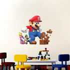Super Mario Big Wall Decals Nintendo Wallpaper Stickers Mario Game Room, e14