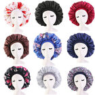 Kyпить US Extra Large Long Hair Care Satin Bonnet Cap Night Sleep Hat Head Wrap Cover на еВаy.соm