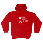 Funny Novelty Hoodie Hoody hooded Top - Christmas Flossing Through The Snow Xmas