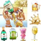 Внешний вид - Champagne Cup Beer Bottle Foil Balloon Ballons Birthday Wedding Party Xmas Decor