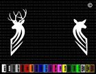 Deer Couple #5 Hunting Car Sticker Window Vinyl Decal Redneck Fishing Doe Buck