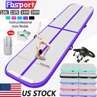 13/16/20FT Airtrack Inflatable Air Track Floor Gymnastics Tumbling Mat GYM +Pump image