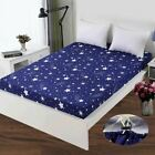 1 Pc Polyester Sheet Mattress Cover Printing Fitted Sheets Four Corners With Ela image