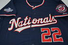 Juan Soto #22 Washington Nationals Majestic Navy w/ National World Series Jersey on Ebay