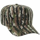 Wholesale 12 x Camouflage Cotton Blend Twill 5 Panel Low Crown Structured Baseba