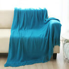 "Throw Blanket Warm Cozy Extra Soft Couch Sofa Bed Decorative Fringe 50"" x 60"""