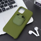 1PC 2-in-1 Soft Phone Shell Earphone Cover Compatible for Air Pods iPhone 11 Pro
