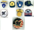 Brewers Vintage Pin Choice Milwaukee 80's 90's 2000's Sylvester Miller Park MLB on Ebay