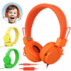 Foldable Kids Wired Headphones Mic Stereo Headset Earbuds For Kids Earphones Hot