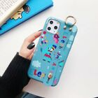 Cute Elephant Wristband Bracket Phone Case Cover For Apple iPhone 6-11 Pro Max