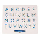 UK Kids Magnetic Alphabet Drawing Tablet Toy Letter Educational Learning Board