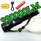 Squiffy Quality T6 Flashlight Phone Usb Charger Flashlight 18650 Battery + Charger