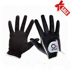 Men's Golf Gloves Wet Weather Right Hand Left Hand Lh Rh Black Grey Rain 1 Pack