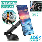 Adjustable Wireless Fast Charging Car Charger Mount Holder Stand For Cell Phone