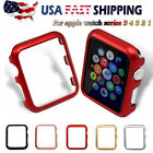 For Apple Watch Series 5 40/44mm Bumper Hard Case Cover Snap On Slim Protective