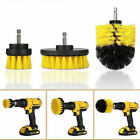 3Pcs/Set Power Scrubber Cleaning Drill Brush Tile Grout Tools Tub Cleaner Combo photo