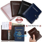 Kyпить Premium Leather Passport Holder Travel Wallet RFID Blocking ID Card Case Cover  на еВаy.соm
