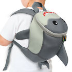 Внешний вид - Emmzoe Toddler 3D Animal Backpack w/ Detachable Harness Leash - Shark