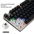 Keyboard Gaming Mechanical USB Wired Multi Color switch Backlit Computer Tools